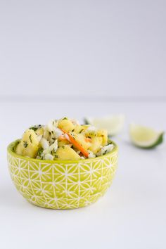 Hawaiian Hula Pork Fajitas with Pineapple Slaw + Coconut Rice | halfbakedharvest.com
