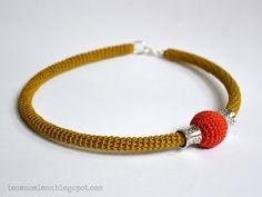 amazing crochet necklace / collana a uncinetto bellissima