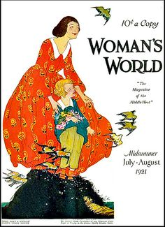 Vintage Magazine Cover - July-August 1921