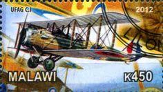 Stamp: Ufag C.I (Cinderellas) (Malawi) Col:MW 2012-15/4