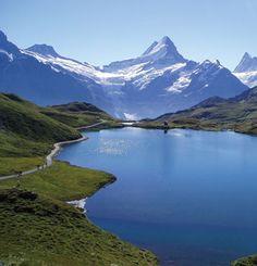 Neuchatel Lake, Switzerland