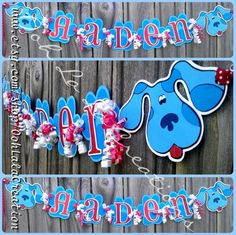 Blues clues name banner