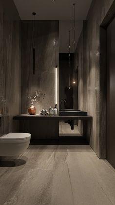 Interior Design Toilet, Washroom Design, Toilet Design, Home Interior Design, Modern Luxury Bathroom, Bathroom Design Luxury, Luxury Bathrooms, Home Building Design, Home Room Design