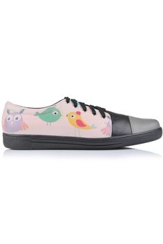"""Sneakers piele naturala """"Fat bird"""" Fat Bird, Slip On, Sneakers, Shoes, Tennis, Slippers, Zapatos, Shoes Outlet, Sneaker"""