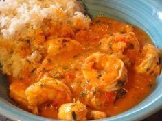 Brazilian Shrimp Stew (Moqueca De Camaroes) - My WordPress Website Shrimp Recipes, Mexican Food Recipes, Ethnic Recipes, Chicken Recipes, Brazilian Dishes, Brazilian Recipes, Brazil Food, Shrimp Stew, Seafood Stew