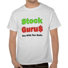 stock trader stock guru red t shirt stock tradershirt ideasgreat