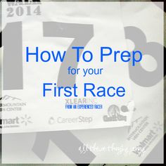 Tips for How to Prep For Your Race
