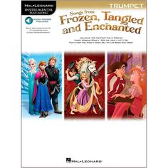 Hal Leonard Songs From Frozen, Tangled And Enchanted For Trumpet - Ins