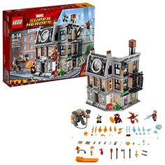 LEGO Marvel Avengers Infinity War Sanctum Sanctorum 76108 Super Heroes for sale online Lego Marvel's Avengers, Lego Marvel Super Heroes, Lego Hulk, Avengers Comics, Ms Marvel, Captain Marvel, Spiderman Marvel, Doctor Strange, Age Of Ultron