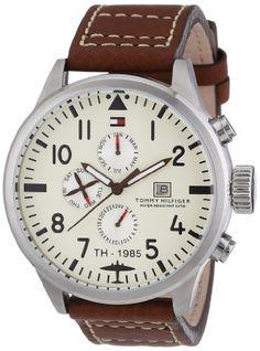 Sale Preis: Tommy Hilfiger Herren-Armbanduhr Cool Sport Analog Quarz Leder 1790684. Gutscheine & Coole Geschenke für Frauen, Männer und Freunde. Kaufen bei http://coolegeschenkideen.de/tommy-hilfiger-herren-armbanduhr-cool-sport-analog-quarz-leder-1790684