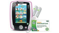 LeapPad2™ Power Starter Bundle Pink | Launch their love of learning with LeapPad2 Power plus $20 toward an app of their choice!