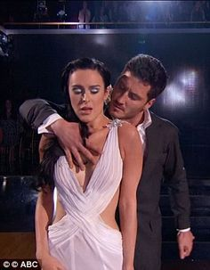 Racy: The impressive dance was inspired by the 50 Shades of Grey trilogy...