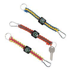 God's+Galaxy+VBS+Paracord+Compass+Key+Chain+Craft+Kit+-+OrientalTrading.com