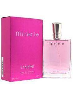 Lancôme Miracle. Another favorite perfume of mine. Feminine and sweet, spicy and confident.