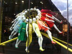 Window Visual Merchandising | VM | Window Display | Topshop, London
