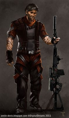 Mercenary by Trishkell.deviantart.com on @deviantART