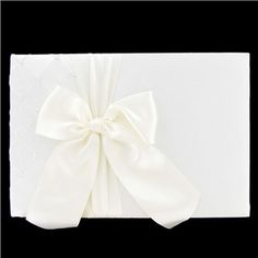 His & Hers Ivory Quilted with Pearls Guest Book | Shop Hobby Lobby
