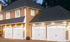 Now those are some garage doors with curb appeal. Visit the style gallery, and then build the look you want for your garage doors by Clopay.
