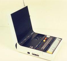 Radioregistratore a musicassette, a transistor - Brionvega Soundbook Sapper Richard Anno 1974