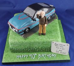 Another beloved car with a copy of the hand written plaque he has on the back of the car Handmade Chocolates, Novelty Cakes, Hand Written, Christening, Wedding Cakes, Birthdays, Workshop, Car, Wedding Gown Cakes