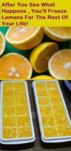 After You See, What Happens, You will Freeze Lemons For the Rest of Your Life, Its Interesting | Fitness Beauty