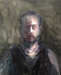 "Guy Maestri - ""Les"", 2013 semi-fianlist in Doug Moran National Portrait prize."