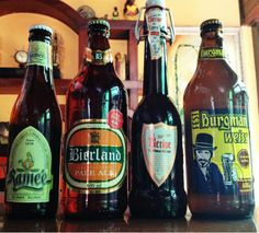 Cervejas CluBeer - Uerige Altbier, Burgman Weiss, Bierland, Ramée