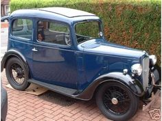 Ah, the Austin 7 Ruby. Perfect. Not sure where I'd put the dog though...