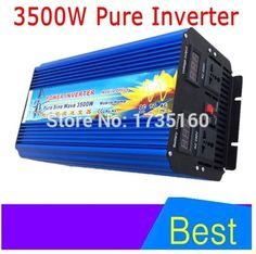 378.10$  Watch here - http://alifhx.shopchina.info/go.php?t=32637730039 - DHL FedEx free shipping 3500W dc ac power inverter pure sine wave 3500W voltage converter for solar home system  #magazineonline