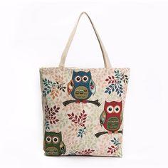 $8.32 (Buy here: https://alitems.com/g/1e8d114494ebda23ff8b16525dc3e8/?i=5&ulp=https%3A%2F%2Fwww.aliexpress.com%2Fitem%2FWomen-Handbag-Owl-Printed-Canvas-Zipper-Beach-Shoulder-Bags-Girl-Fresh-Shopping-Bag-Casual-Tote-Bolsa%2F32781669448.html ) Women Handbag Owl Printed Canvas Zipper Beach Shoulder Bags Girl Fresh Shopping Bag Casual Tote Bolsa De Praia #9220 for just $8.32