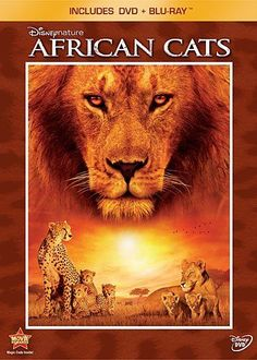 Travel to Africa via Disneynature's nature documentary film called African Cats.