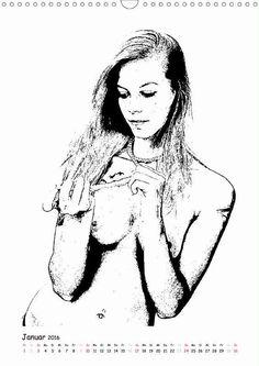 """Jetzt im Handel erhältlich: Der Kalender mit Bildern aus der Ausstellung """"ANNA"""" - PHOTO ART° by Rosemarie Hofer (2016 hoch) Ästhetische Impressionen einer jungen Frau (Monatskalender, 14 Seiten) Zu..."""