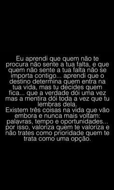 Arriscar é arriscado, mas as oportunidades são oportunidades Some Quotes, New Quotes, Great Quotes, Inspirational Quotes, Confused Feelings, Tumblr Love, Motivational Phrases, Quotes About Moving On, Text Messages