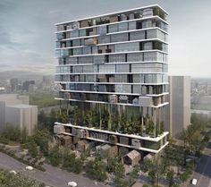 Shelf Hotel designed by 3Gatti Architecture Studio - Xian, China