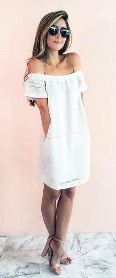 little white dress #styleblogger