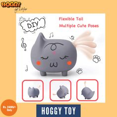 Learning toys make the process of 'understanding and absorbing' simple and exciting. ✌️   Hoggy brings to you such toys and that too, at very decent prices. Our educational toys will not only keep your brats engaged and happy, but will also help in enhancing their skills.💯   Thus, choose from the best children educational toys or kids learning toys for your growing ones and help them grasp and gain in a better way. ✔️ Hoggy has a brain powered by Artificial Intelligence.   #toy #education Kids Learning Toys, Teaching Kids, Normal Person, Cute Poses, Artificial Intelligence, Kids House, Learn English, Educational Toys, Piggy Bank