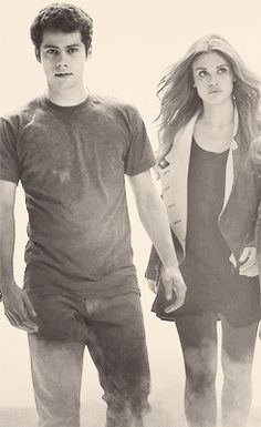 Stiles Stilinski & Lydia Martin- perfect couple but Lydia had her chance, Stiles can't wait for ever