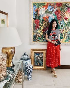 7 Celebrity Outfits That Will Inspire You To Wear More Prints - Star Style PH Heart Evangelista Style, Sunday Dress, Celebrity Outfits, Petite Dresses, Asian Style, Boss Babe, Star Fashion, Asian Beauty, Imaginary Friends