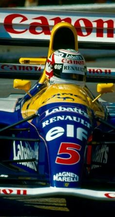 Nigel Mansell - Williams FW-14B - 1992 - World Champion!