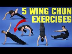 5 Wing Chun Training Exercises - Strength Workout - YouTube
