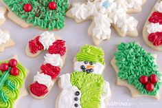 I've been perfecting my Christmas Sugar Cookies (cut outs) for 20+ years. This is the BEST Christmas Cookie Frosting recipe I use to top them!