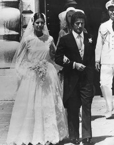 The marriage did not exactly have the royal seal of approval, but after a jet-setting romance, Princess Caroline married French businessman Philippe Junot on June 28, 1978. She was 21 and he was 38. The marriage was over after 28 months.
