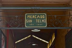Mercado San Telmo in Argentina- an open air market that spans across blocks of Calle Defensa, one of the coolest places to be in Buenos Aires.