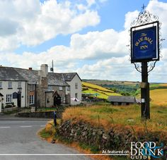 I think the Blue Ball is one of Exmoor's loveliest traditional inns. It's in Countisbury, Devon, UK and surrounded by hiking trails with the most spectacular views. British Pub, British Isles, Tavistock, English Village, See Images, Somerset, Hiking Trails, Great Britain, Countryside