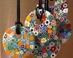 Murano glass pendant By Ercole Moretti On La Bottega dei Cristalli www.labottegadeicristalli.com
