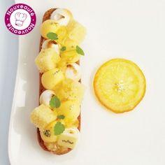 Éclair gourmand au citron