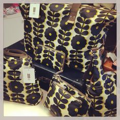 Latest delivery of Orla Kiely making us happy and thinking of summer days to come.