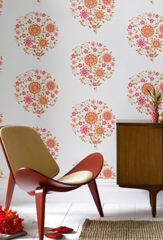 amy butler�s new graham and brown wallpaper