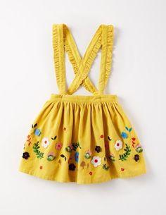 Applique Skirt for Girls   Mini Boden