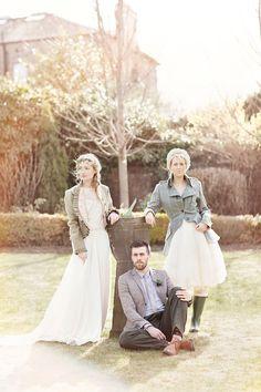 Jackets- Whimsical and Romantic Scottish Castle Wedding Inspiration